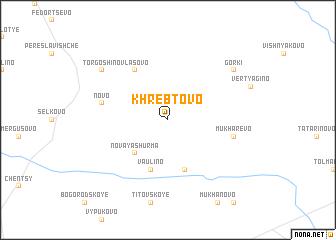 map of Khrebtovo