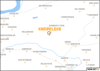 map of Khripelëvo