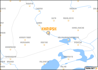 map of Khripsk
