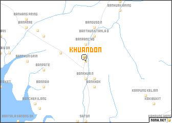 map of Khuan Don