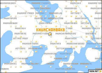 map of Khŭm Châmbák (1)