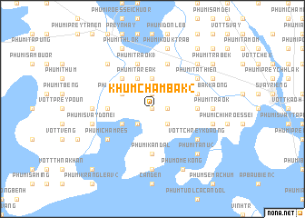 map of Khŭm Châmbák (2)