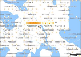 map of Khŭm Poŭthĭ Réach