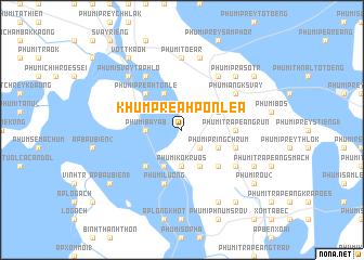 map of Khŭm Preăh Pônléa