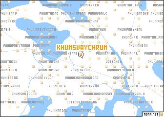 map of Khŭm Svay Chrŭm