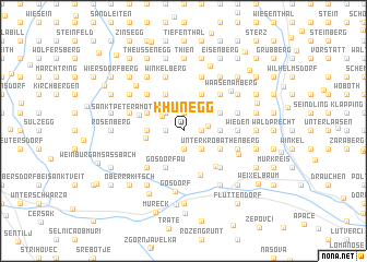 map of Khünegg