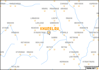 map of Khurelaw
