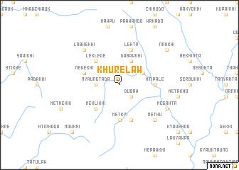 map of Khurelaw