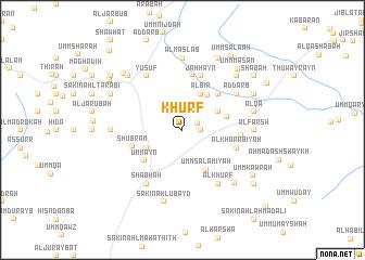 map of Khurf