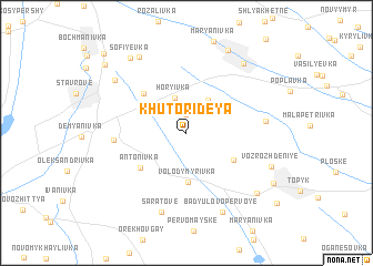 map of (( Khutor Ideya ))