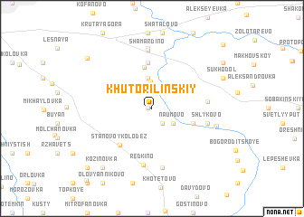 map of Khutor Il\