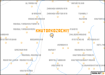 map of Khutor Kozachiy