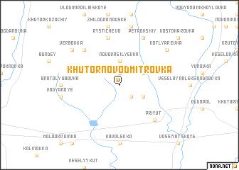 map of Khutor Novo-Dmitrovka
