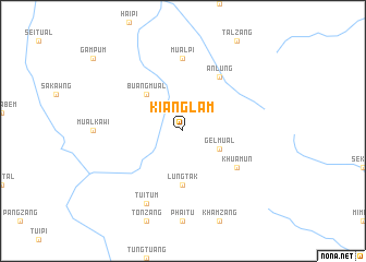 map of Kianglam