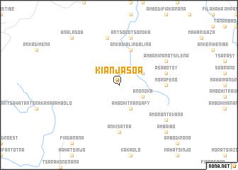 map of Kianjasoa