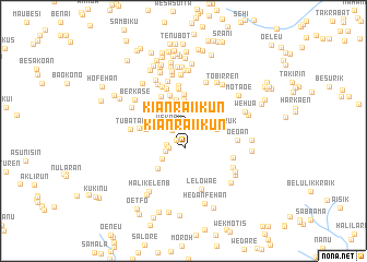 map of Kianraiikun
