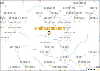 map of Kiarajangkung