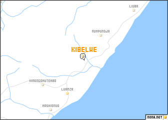 map of Kibelwe