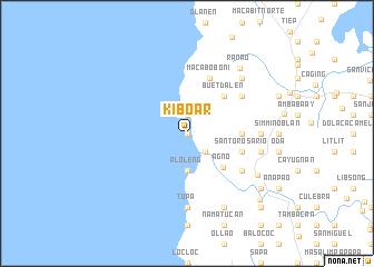 map of Kiboar