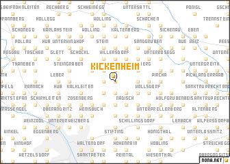 map of Kickenheim