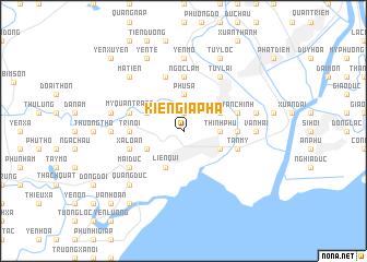 map of Kiên Giáp Ha