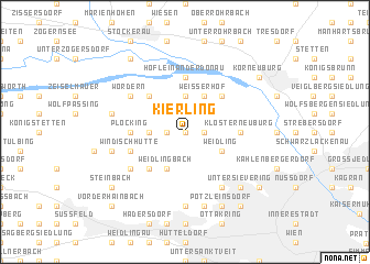 map of Kierling