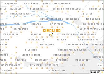 map of Kierling
