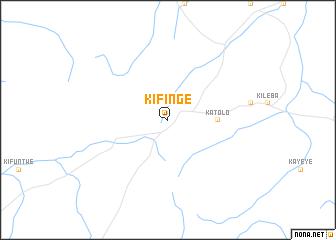 map of Kifinge