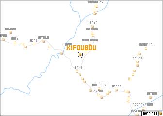 map of Kifoubou