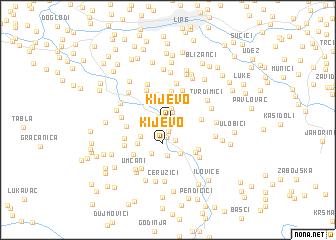 map of Kijevo