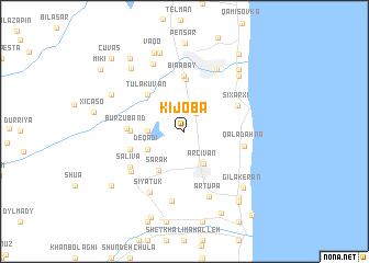 map of Kijoba
