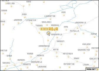 map of Kikkaoja