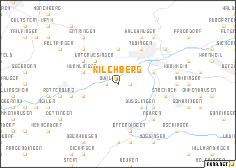 map of Kilchberg