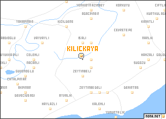 map of Kılıçkaya