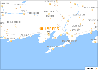 map of Killybegs