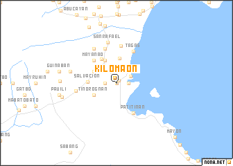 map of Kilomaon
