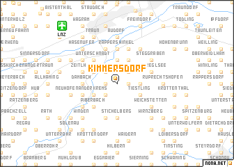 map of Kimmersdorf