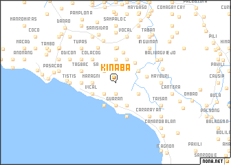 map of Kinaba