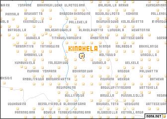 map of Kinahela