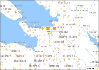 map of Kinalin