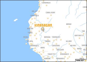 map of Kinasagan