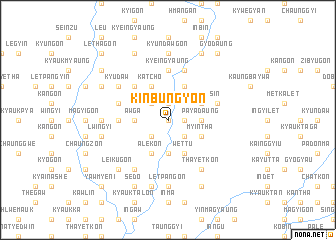 map of Kinbungyon