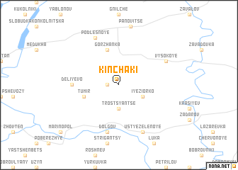 map of Kinchaki