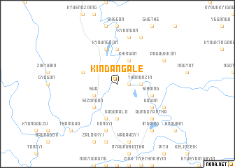 map of Kindangale