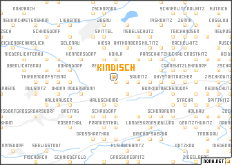 map of Kindisch