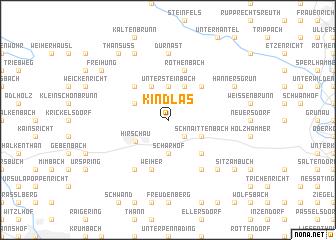 map of Kindlas