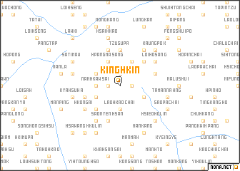 map of Kinghkin