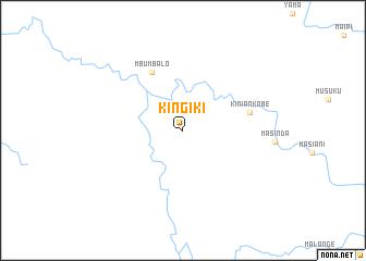 map of Kingiki