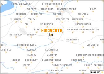map of Kingscote