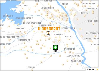map of Kings Grant